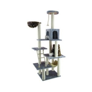 The most complex 78 inch cat tree by Amarkat - lots of sizes and designs available!