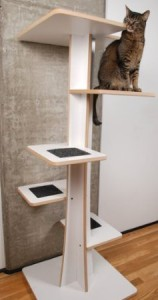The ULTIMATE cat tree, we love it!! And eco-friendly, made of recycled wood