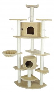 """23.5""""Dx23.5""""Wx80""""H An absolute bargain available in paw print, beige and leopard print faux fur!"""